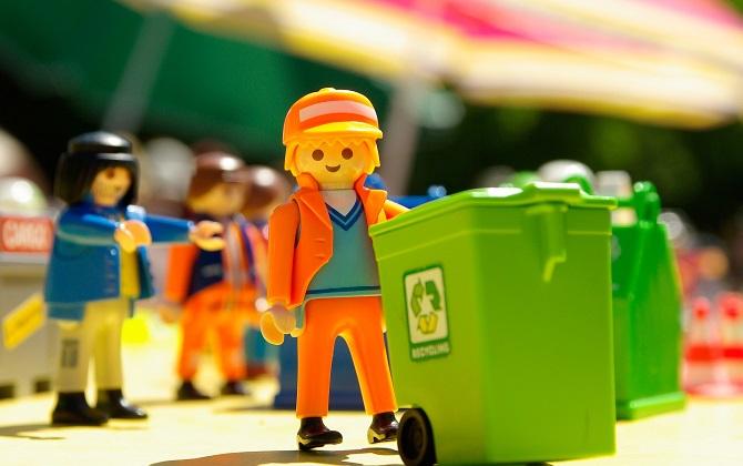 Как устроены раздельный сбор и переработка мусора в США