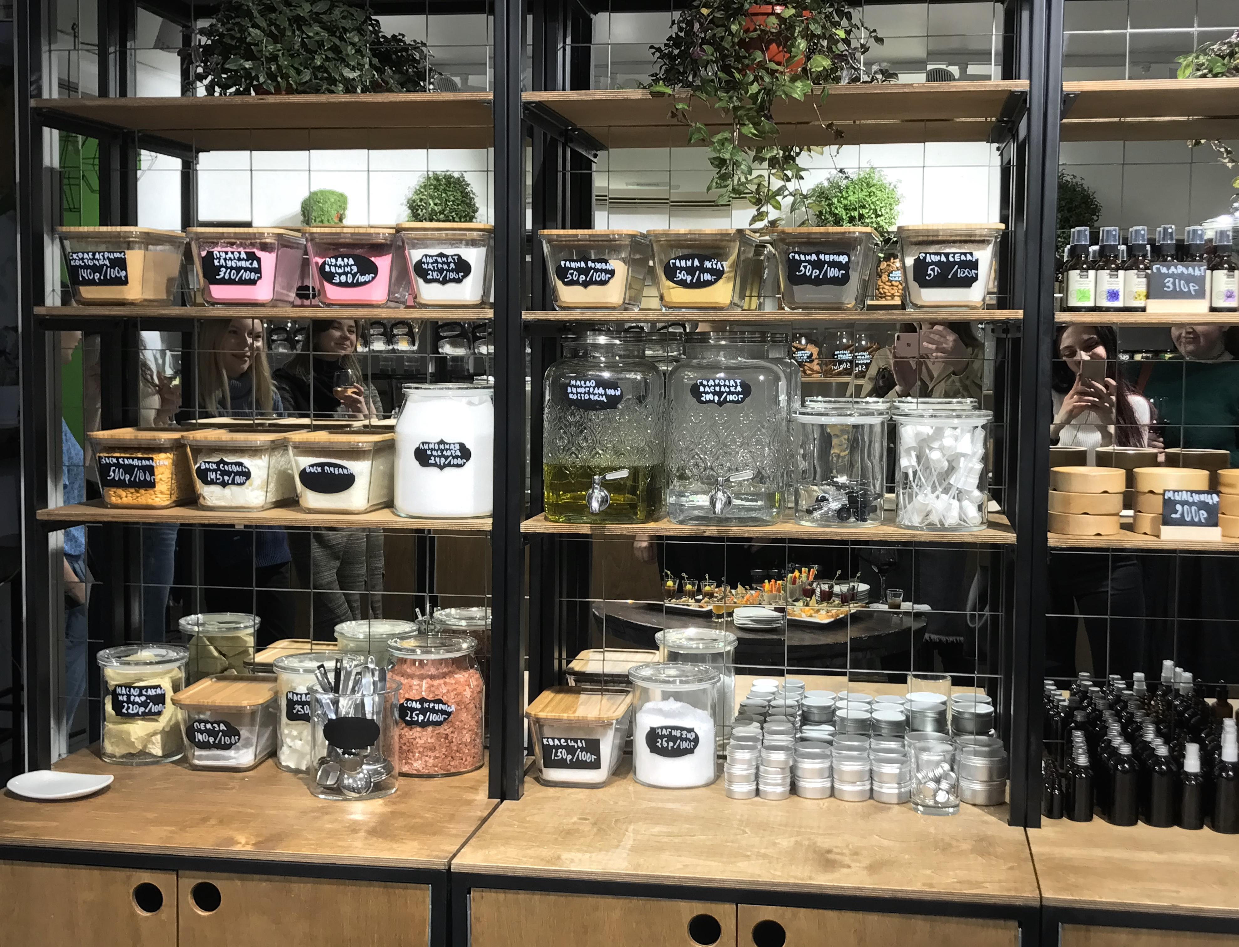 17 фото: в Москве открылся второй магазин без упаковки Zero Waste Shop