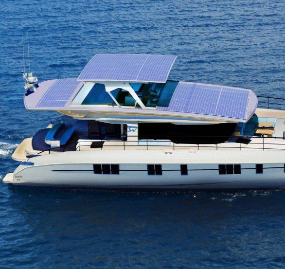 Первая в мире экологически чистая яхта выйдет в море