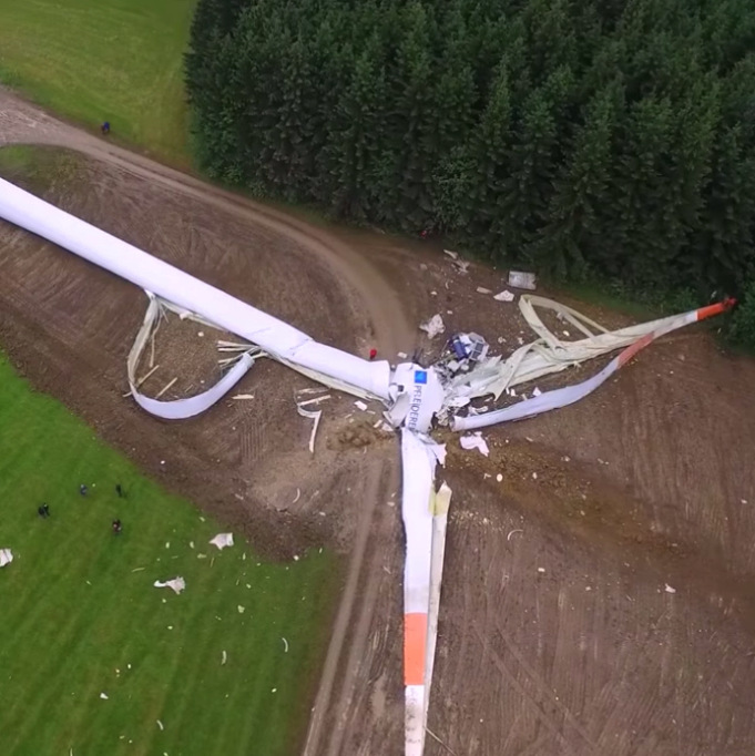 Что бывает, когда строишь слишком много ветряков