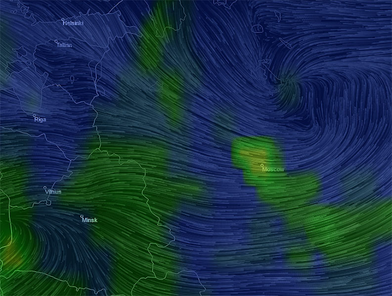 Создана интерактивная 3D-карта загрязнения воздуха