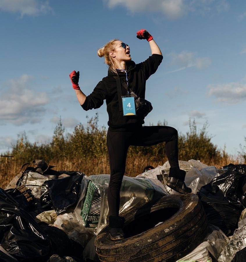 Итоги соревнования по сбору и сортировке отходов на зеленых территориях подведут онлайн