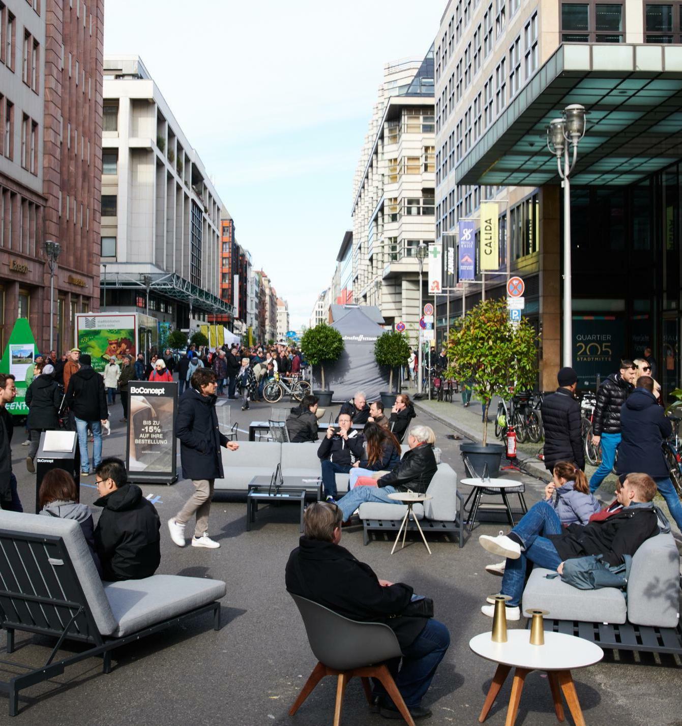 Центр Берлина может стать свободным от автомобилей