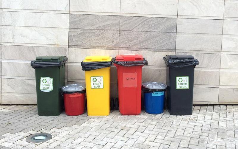 Как организовать раздельный сбор мусора в своем офисе?