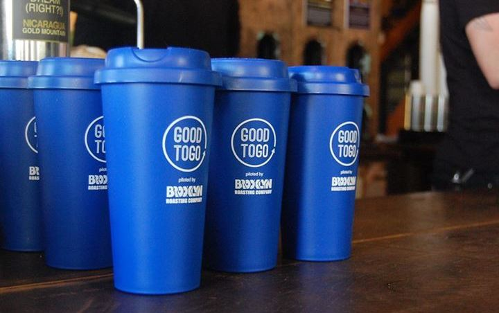 В Нью-Йорке прошла акция по обмену пластиковыми стаканчиками Good to go