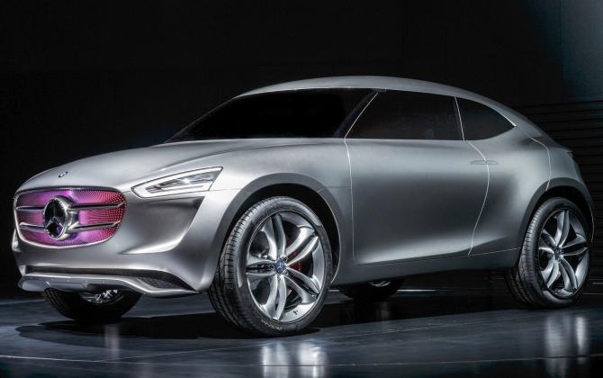 Покрытие нового Mercedes способно вырабатывать электроэнергию