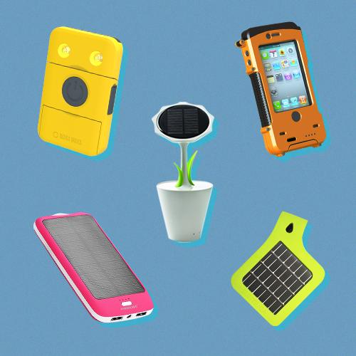 20 экологичных зарядок для iPhone на солнечных батареях