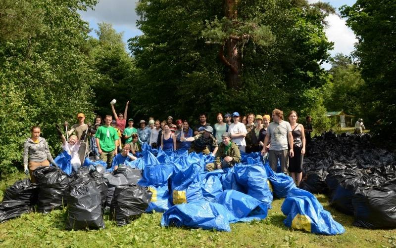 Эколагерь «Просвет» проведет уборку с раздельным сбором мусора