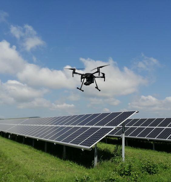 Дроны помогут инспектировать солнечные электростанции