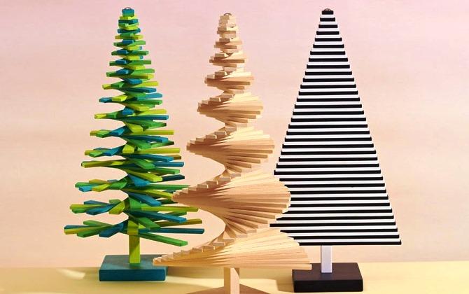 В Москве выберут лучшую альтернативную новогоднюю елку