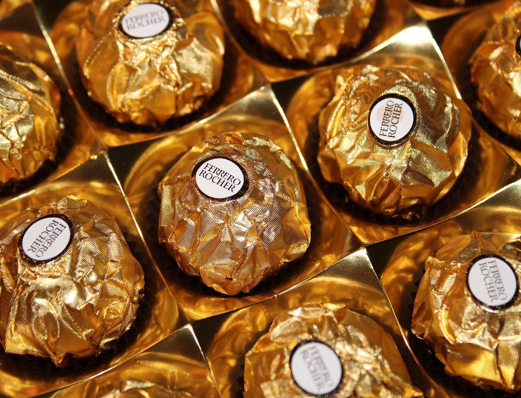 На 40% сокращено количество пластика в новой упаковке Ferrero Rocher