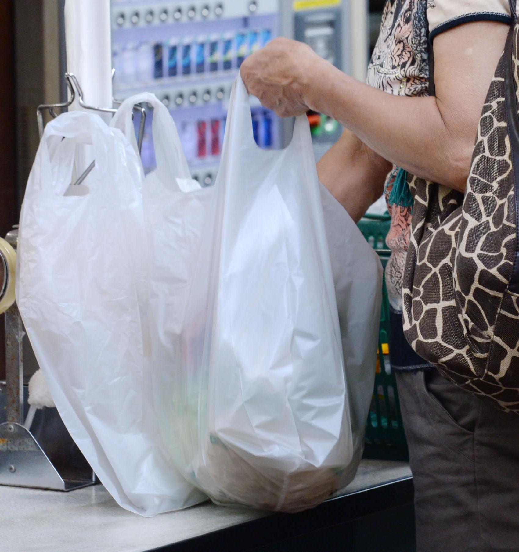 Первый город в Японии запретил пластиковые пакеты