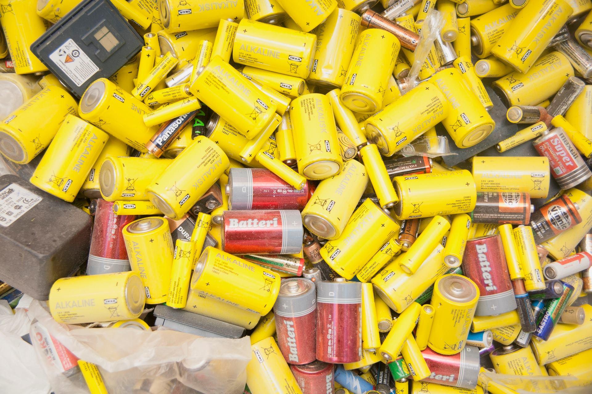 ИКЕА прекратила прием батареек