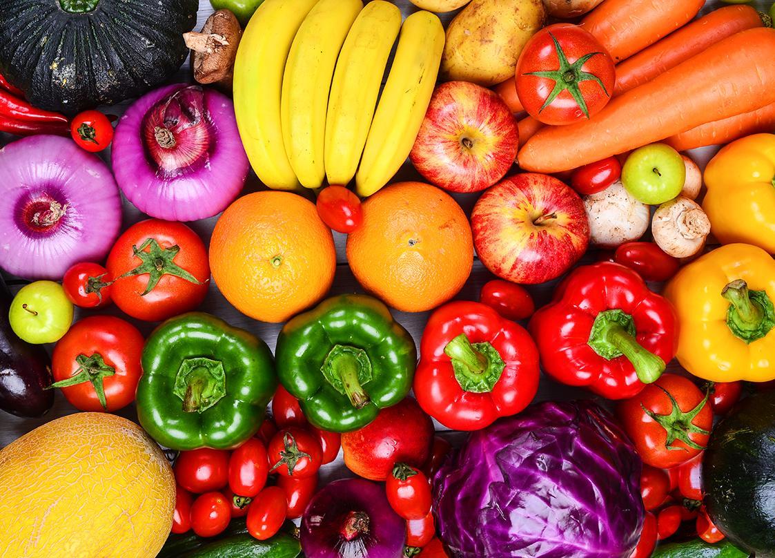 Картинки овощей и фруктов яркие