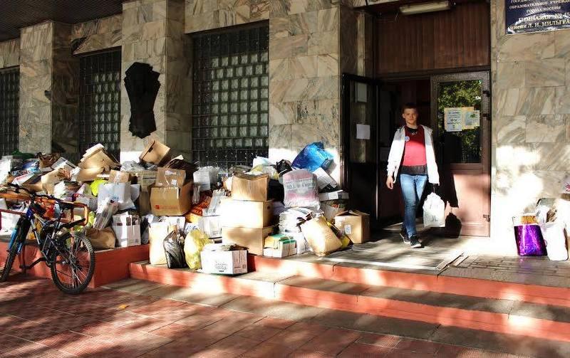 Московская гимназия собрала почти 6 тонн макулатуры