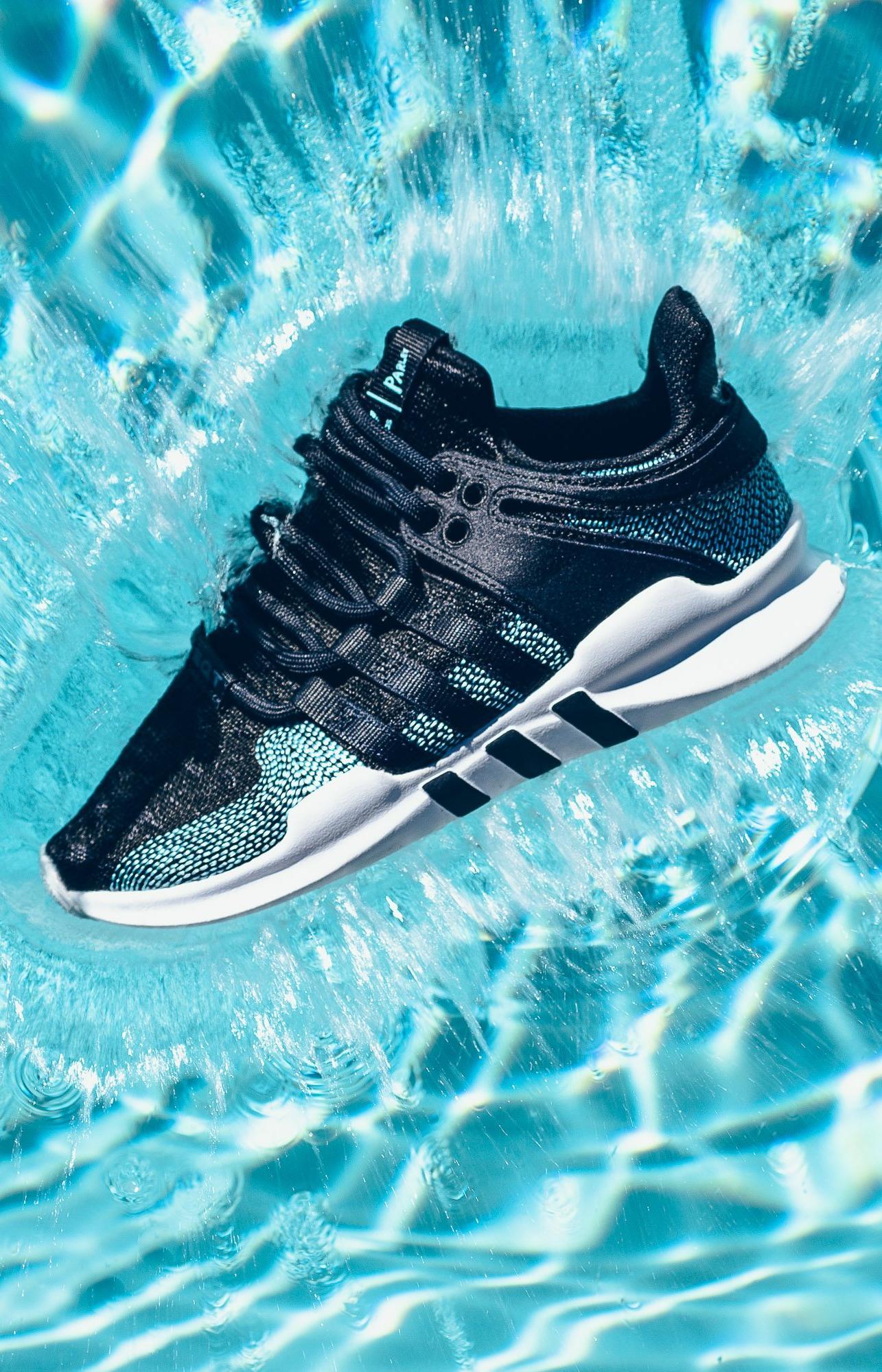 Adidas к 2024 году будет использовать в производстве только переработанный пластик