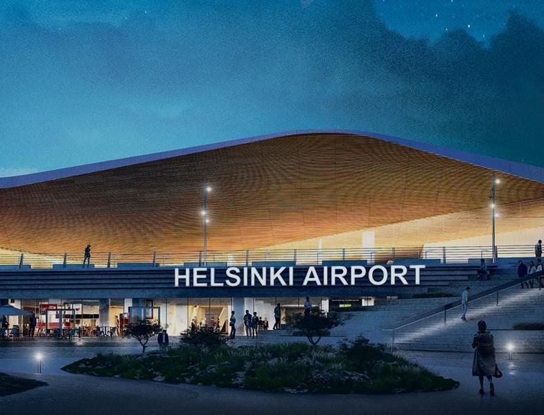На крыше аэропорта в Хельсинки открыли солнечную электростанцию