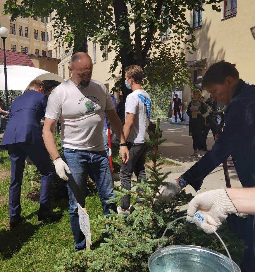 В рамках международной акции «Сад памяти» высажено более 26 миллионов деревьев