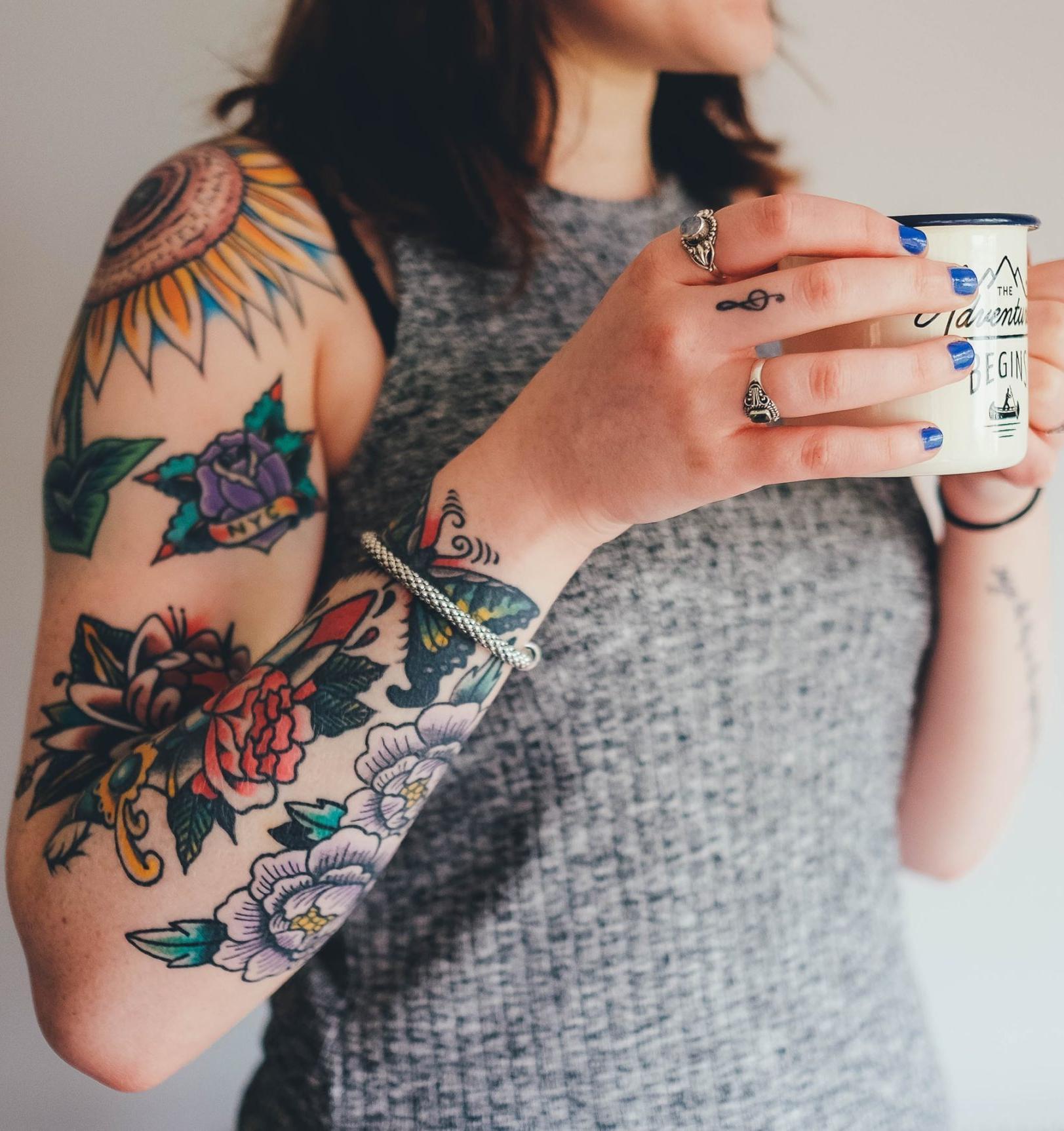 «Зеленая» татуировка: забиваемся экологично