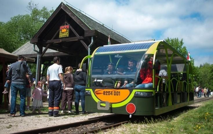 В Венгерском заповеднике запущена сеть трамваев на солнечных батареях