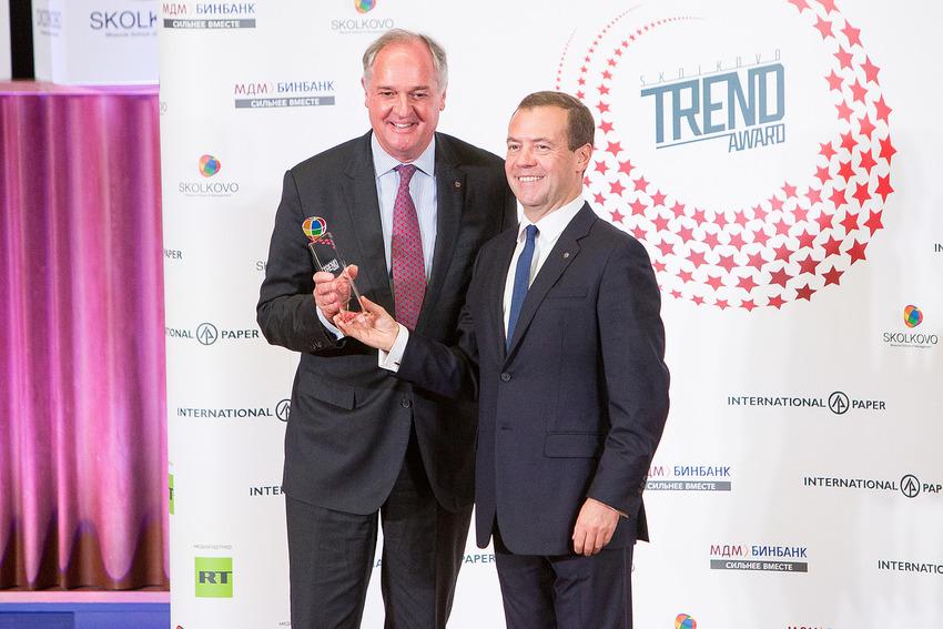 Руководитель Unilever получил премию за поддержку экопроектов