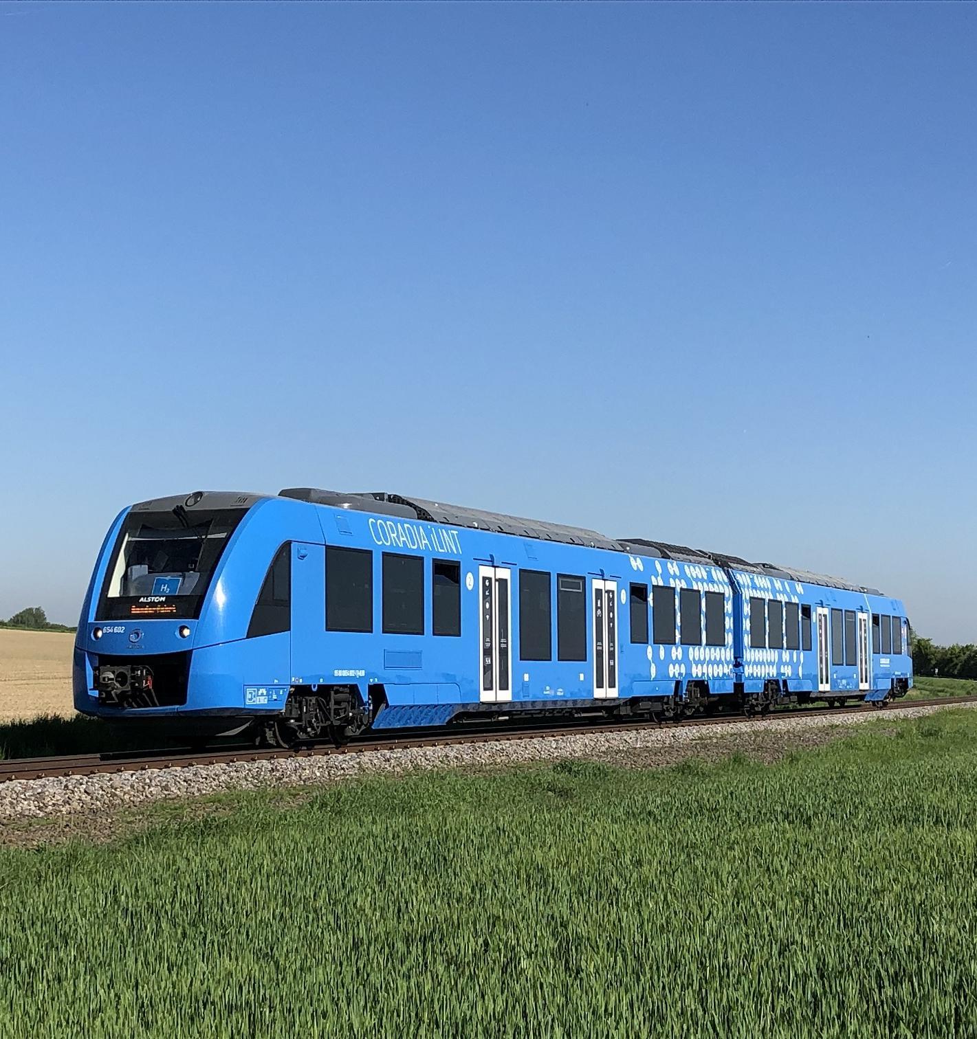 Австрия испытывает поезд на водородном топливе