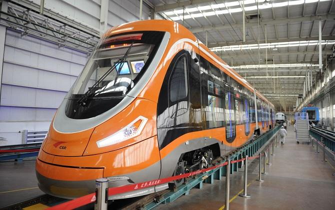 В Китае запустили трамвай на водороде