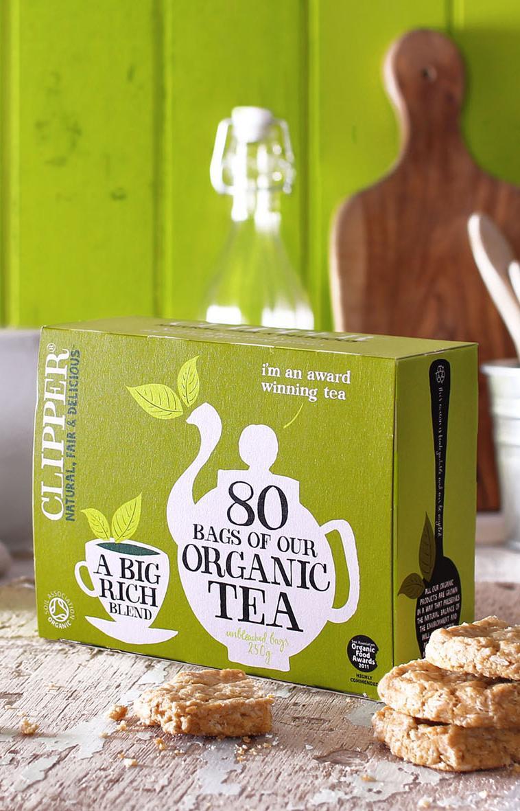 Бренд Clipper представит первый в мире чайный пакетик без пластика