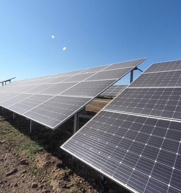 Фото дня: первая солнечная электростанция в Ставропольском крае