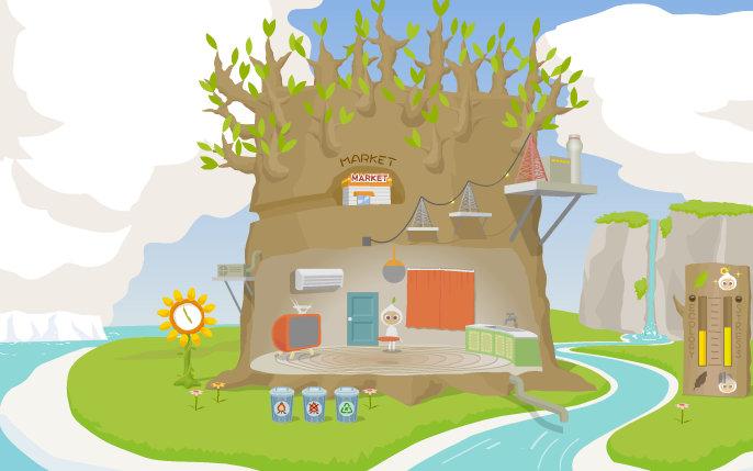 В сети появилась детская игра об экологичном образе жизни