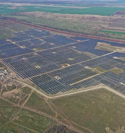 Заработала крупнейшая солнечная электростанция России
