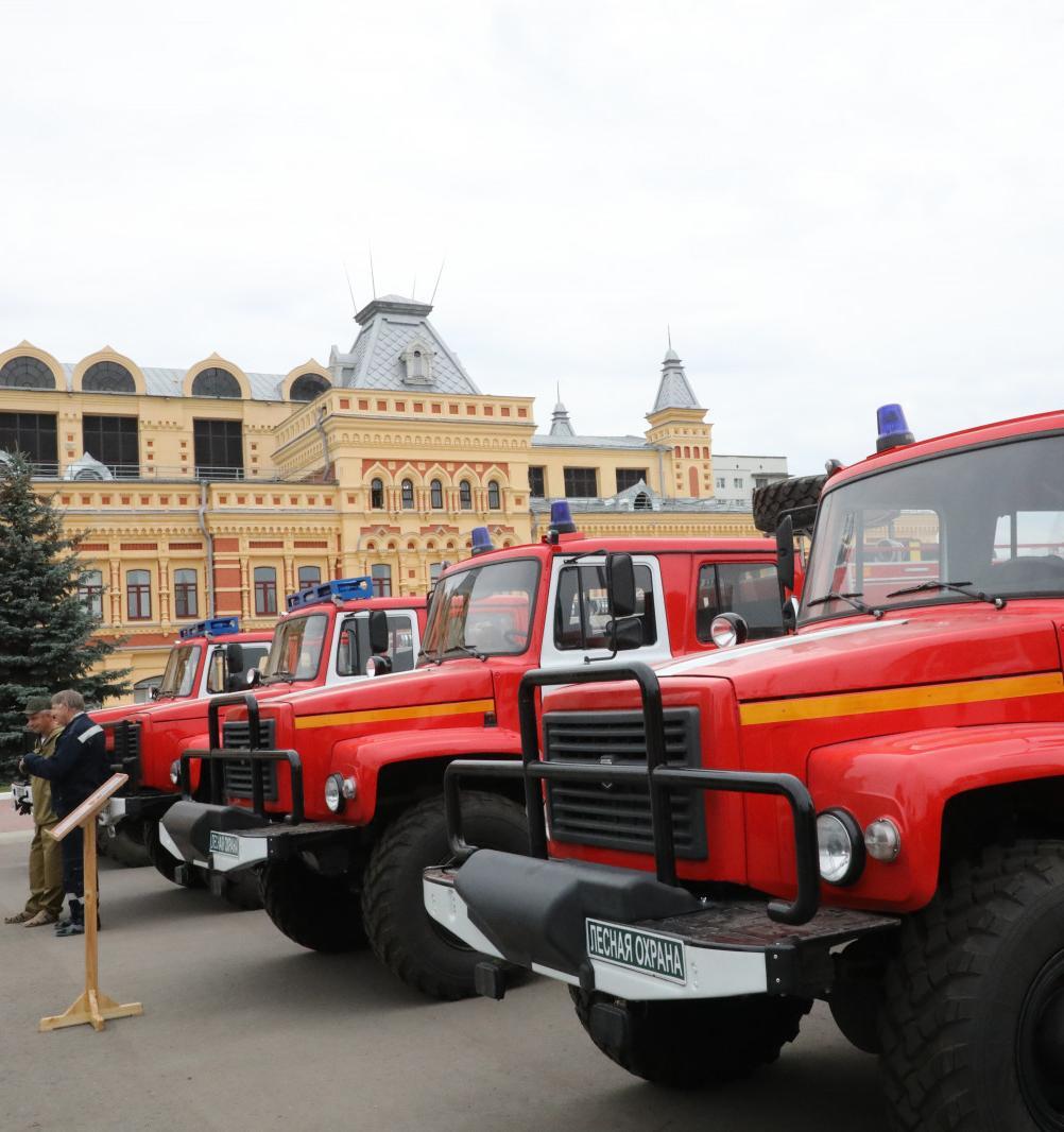 Нижегородские лесники получили технику для обнаружения лесных пожаров и незаконных рубок