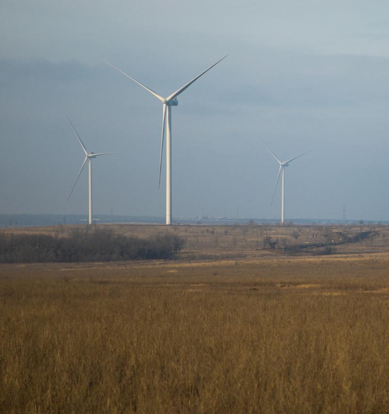 В Ростовской области запустили ветряную электростанцию